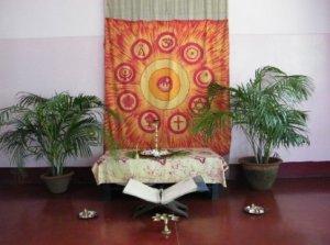 La chapelle de L'Arche Kolkata
