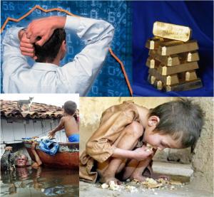 Richesse contre Catastrophes