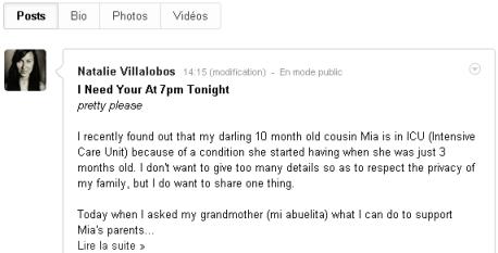 Natalie Villalobos - Google+