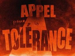 appel pour la tolérance